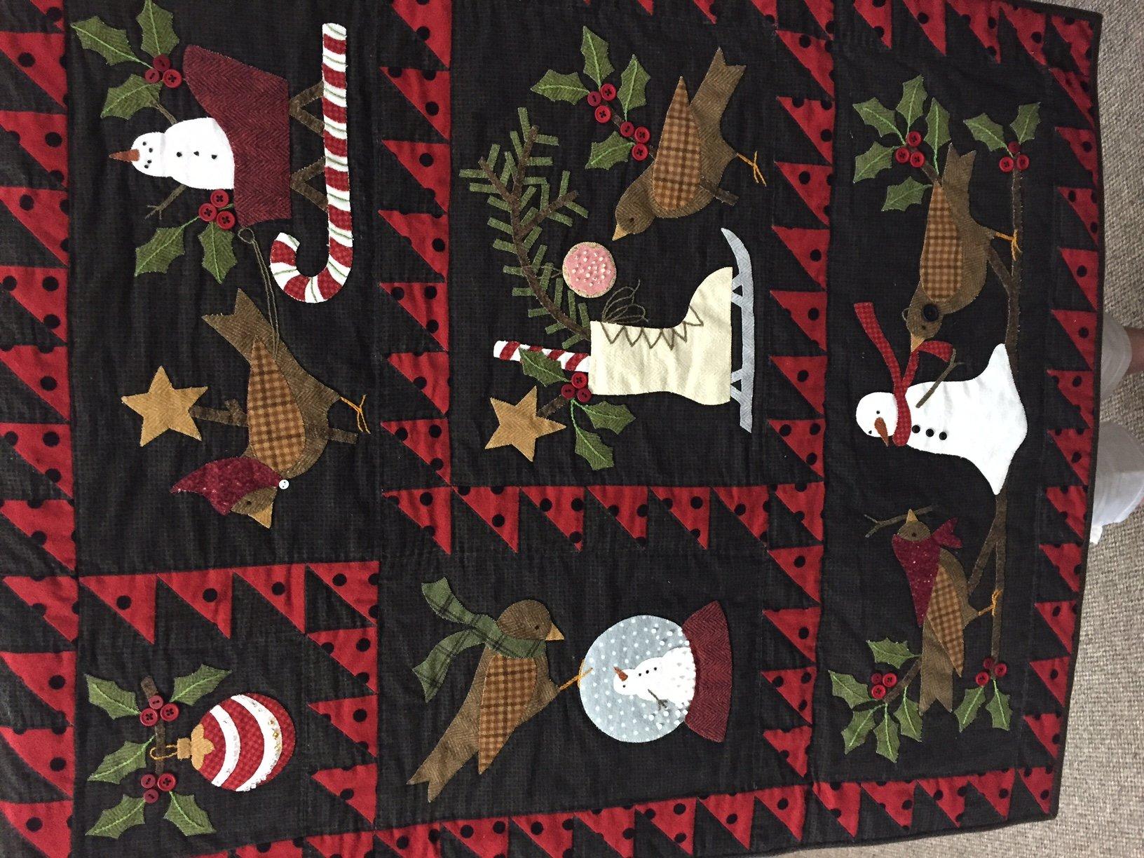 Bertie Winter pattern set