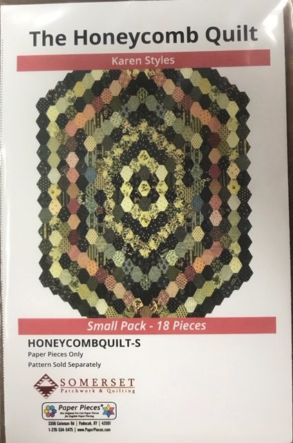 The Honeycomb Quilt papers by Karen Styles