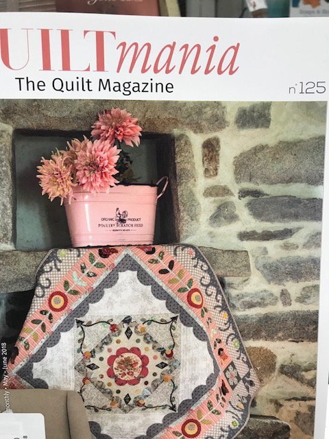 Quiltmania #125 May - June 2018