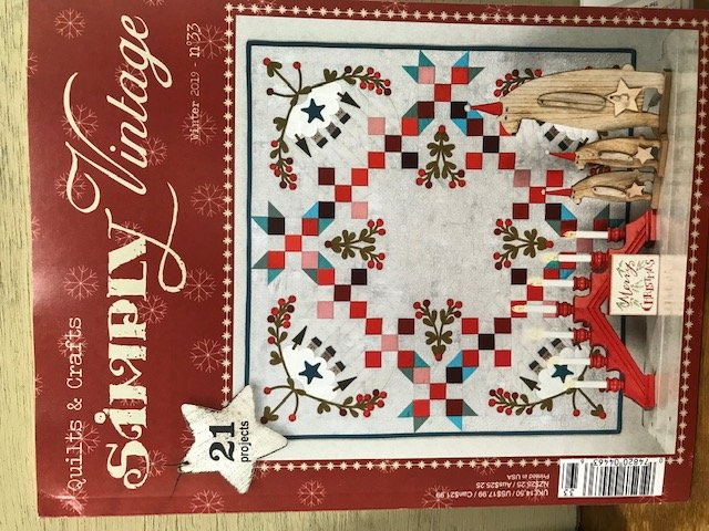 Quiltmania Simply Vintage #33