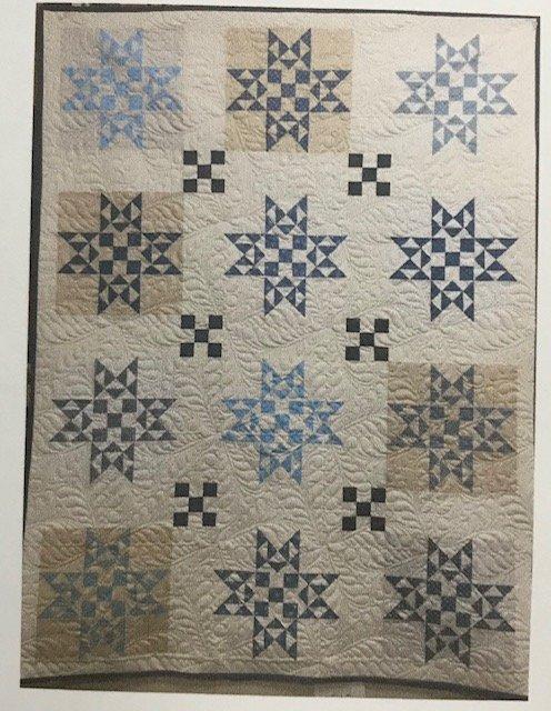 Nine Patch Blizzard pattern