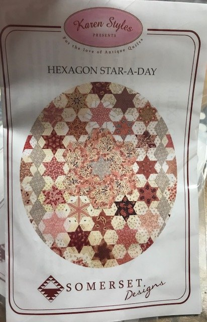 Karen Styles Hexagon Star a day