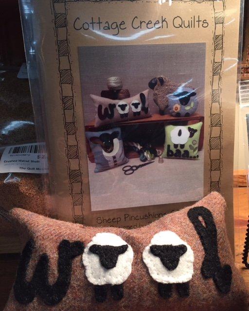 Sheep Pincushions pattern only