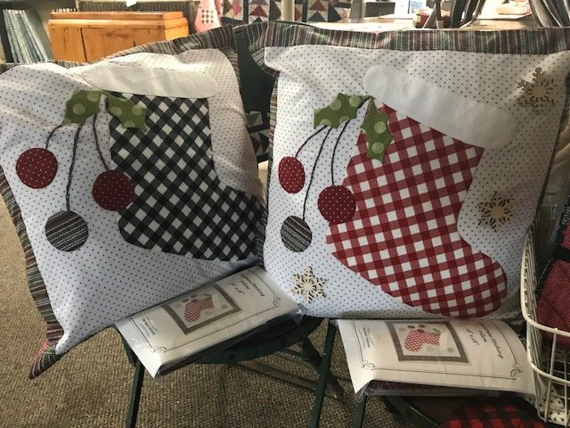 Christmas Stocking Pillows
