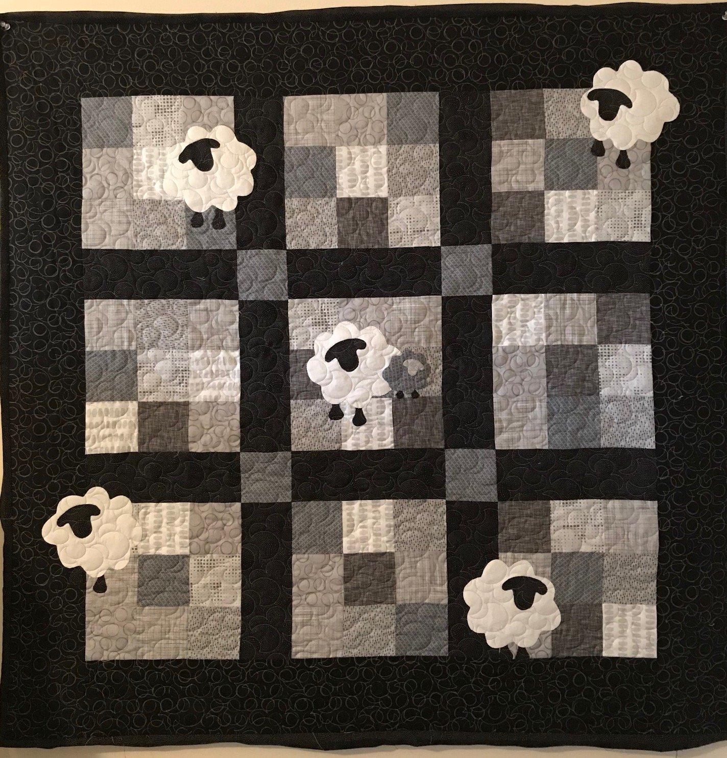 Little Bo Peep Sheep Pattern