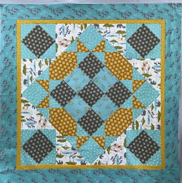Polly's Baby Quilt - Safari