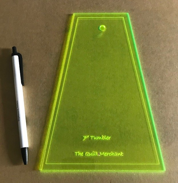 7 Tumbler Ruler