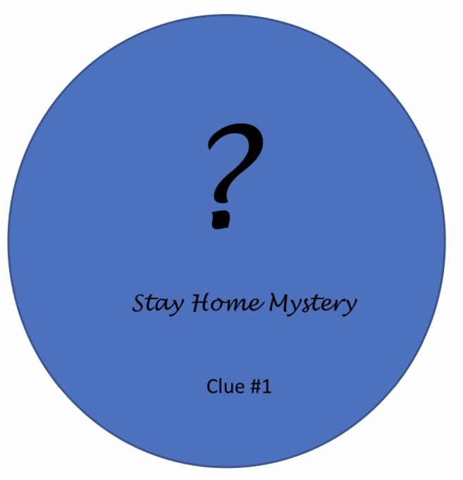 Stay Home Mystery Quilt Clue #1