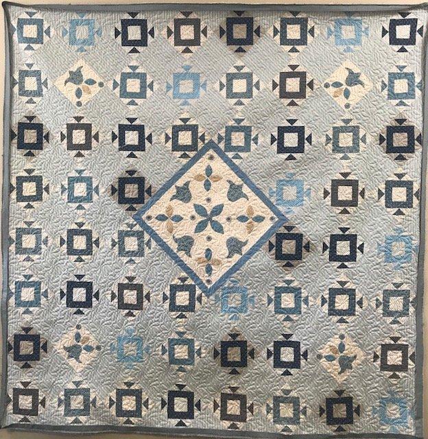 Sean's Blue Quilt