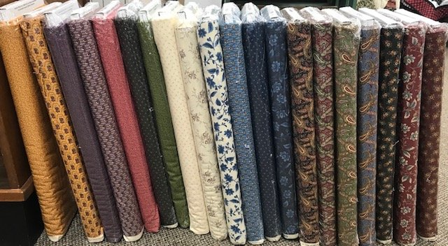 Nancy's Needle by Betsy Chutchian with Moda Fat Quarter Bundle
