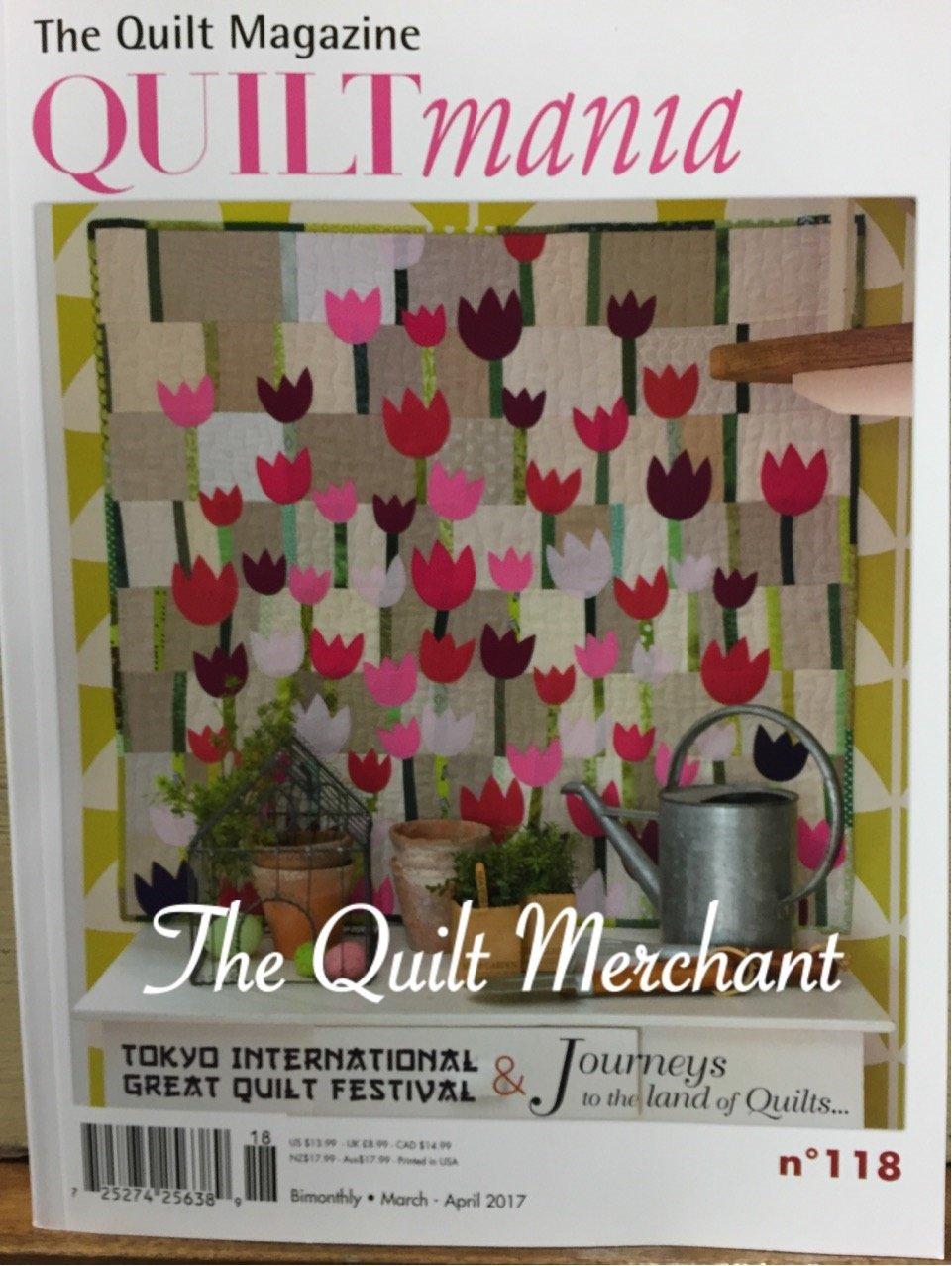 Quiltmania #118 March - April 2017