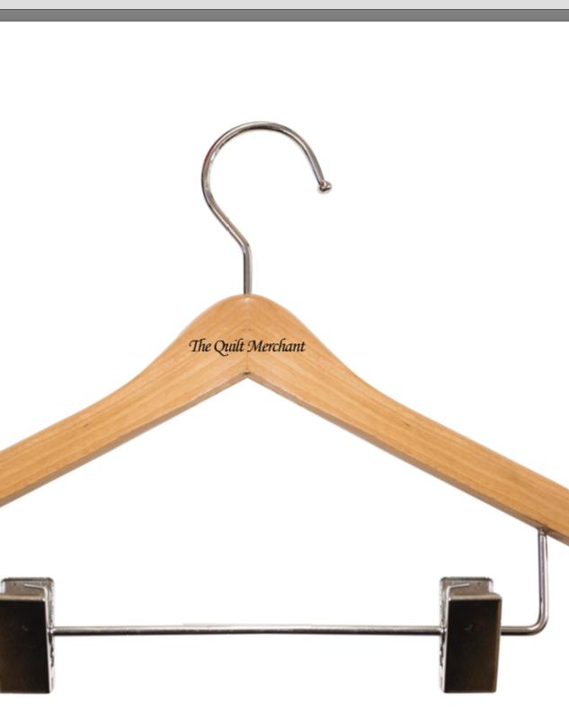 The Quilt Merchant hangers