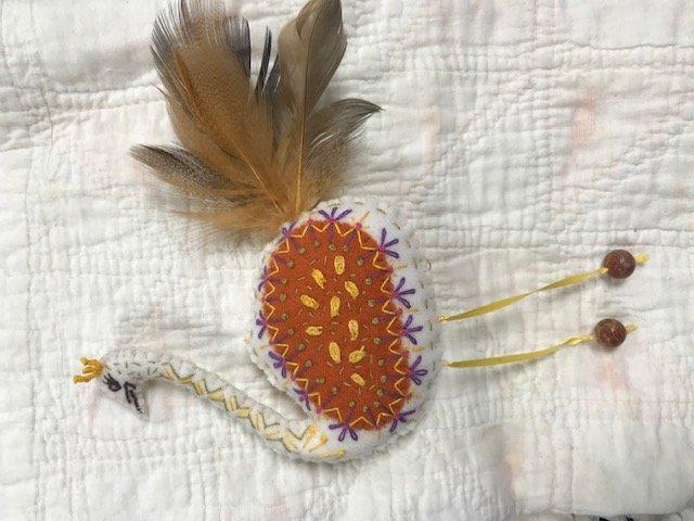Ostrich Wool Ornament