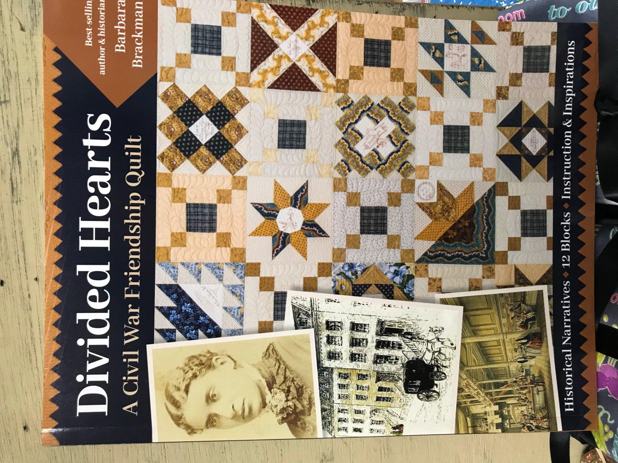 Divided Hearts by Barbara Brackman