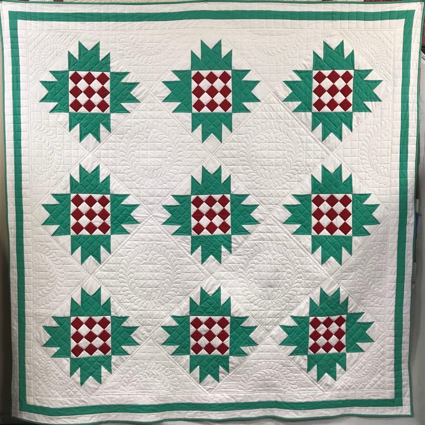 Mona's Christmas quilt
