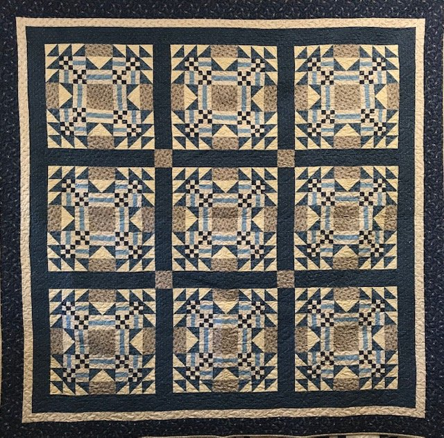 The Morrison House Quilt kit