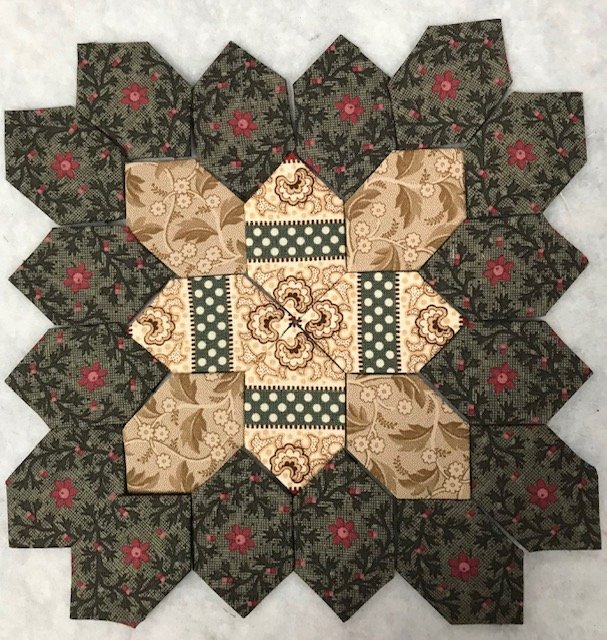 Lucy Boston - Patchwork of The Crosses #125