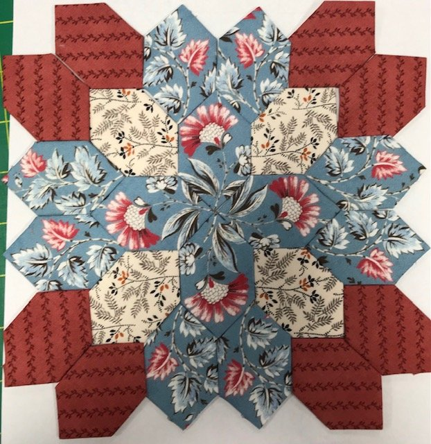 Lucy Boston - Patchwork of The Crosses # 142