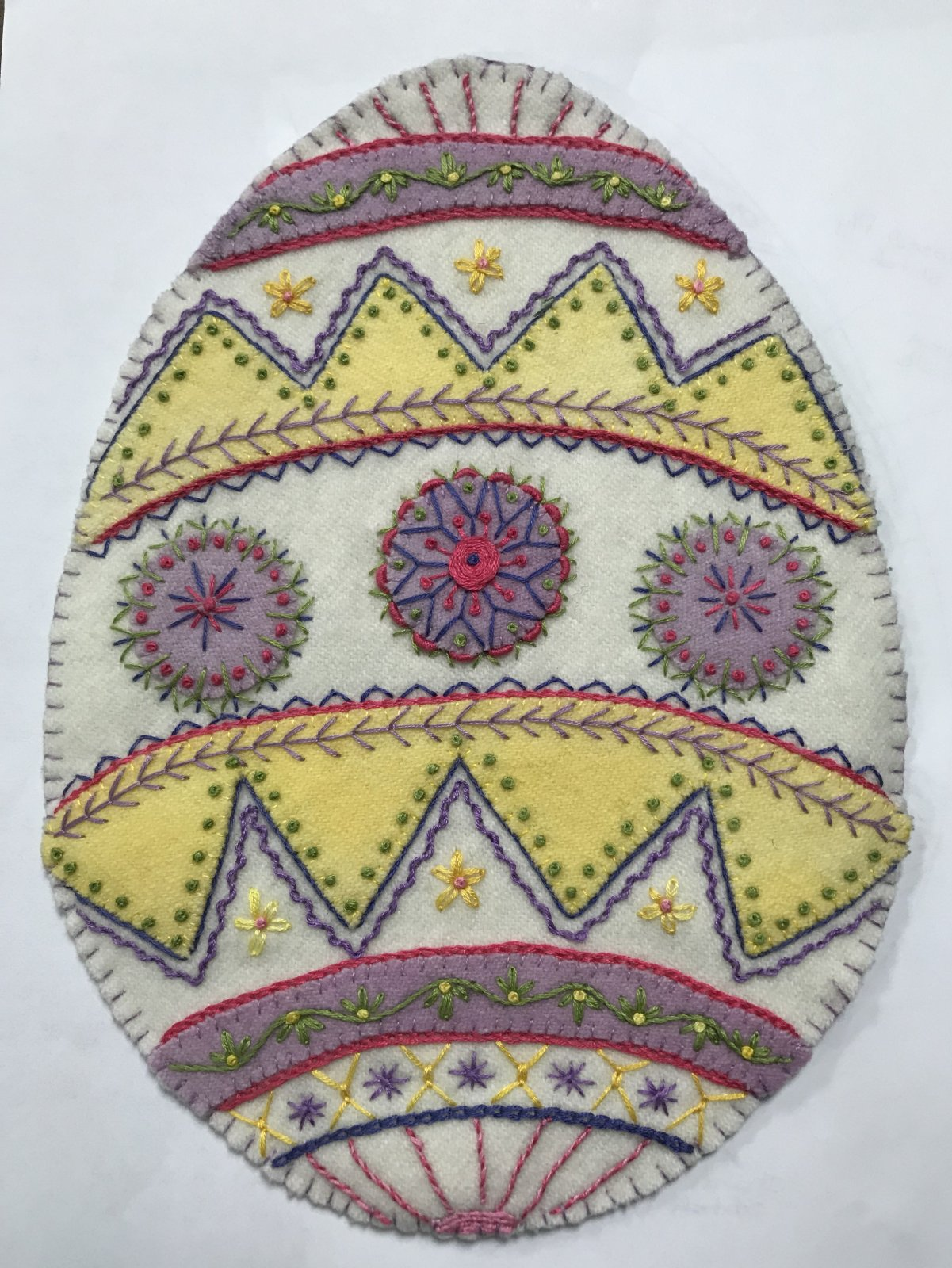 Easter Egg kit with Cosmo Threads
