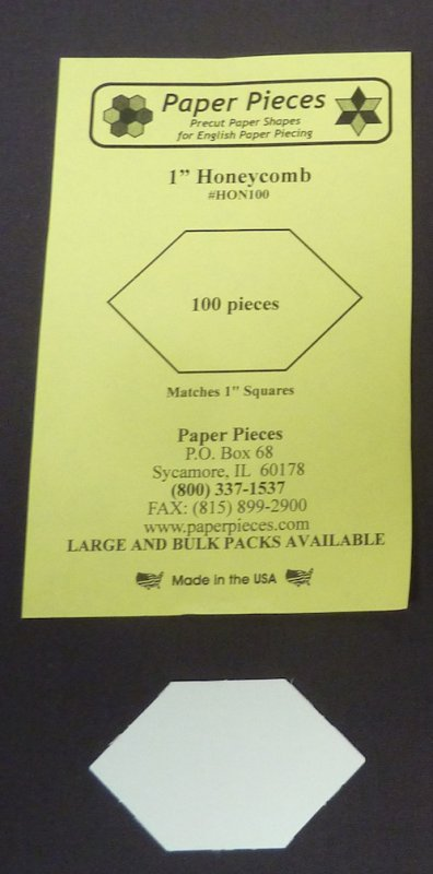 1 inch Honeycomb papers, 100 pieces