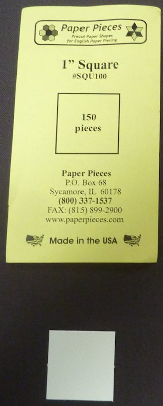 1 inch Square papers, 150 pieces