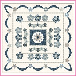Azure Rose pattern kit