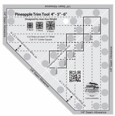 Pineapple ruler Small