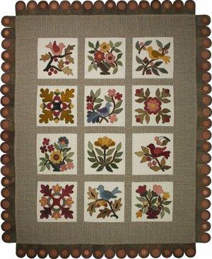 Stitch in Thyme Pattern