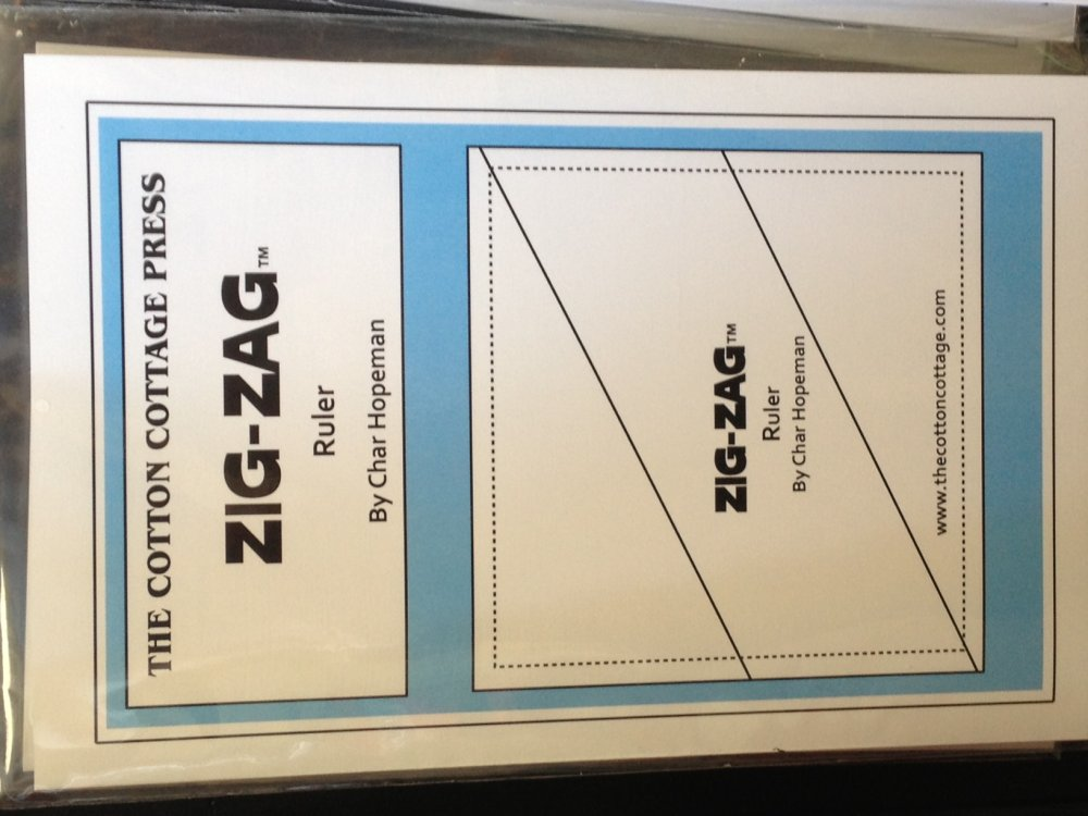Zig Zag Ruler (Flip Flop)