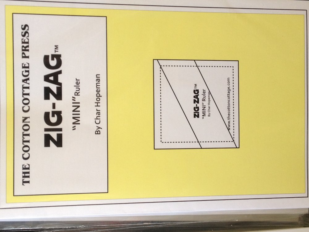 Zig Zag Mini Ruler (Flip Flop Mini)