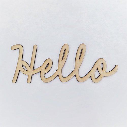 Foundations Decor  'Hello' Script Font