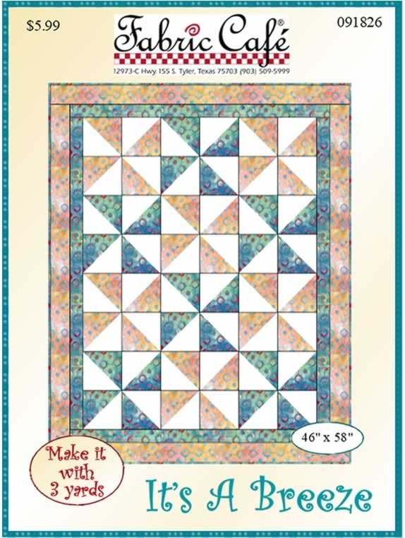 It's A Breeze Fabric Cafe pattern 3 yards