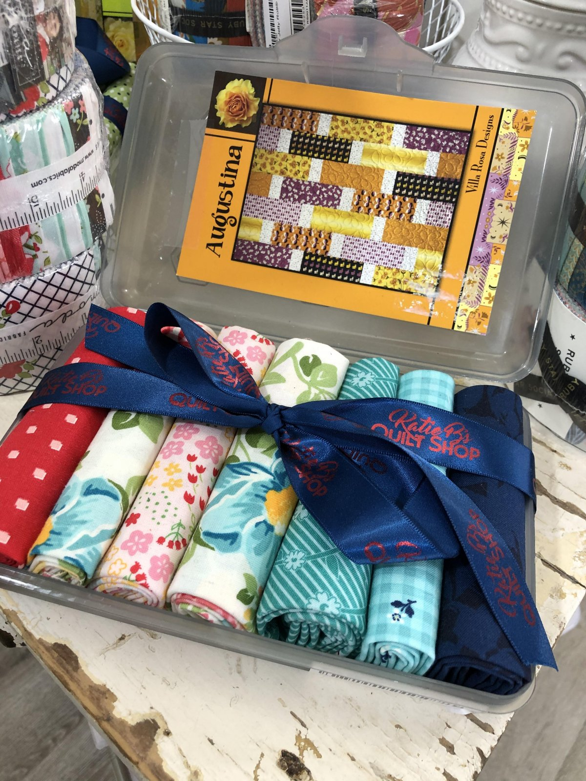 Augustina School Box Kit Homestead Fabrics