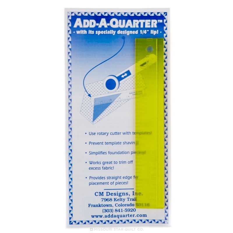 CM Designs Add-A-Quarter Ruler-6