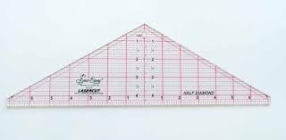 Sew Easy Half Diamond Triangle Ruler