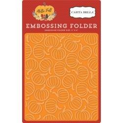 Carta Bella Embossing Folder 5X6  Pumpkin patch