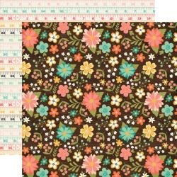 I'd Rather Be Crafting Double-Sided Cardstock 12X12 Favorite Floral