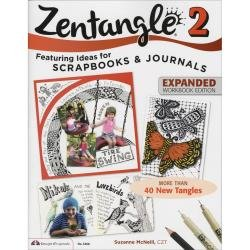Design Originals Zentangle 2 Expanded Workbook Edition