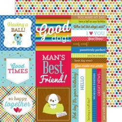Puppy Love Double-Sided Cardstock 12X12 See Spot Run