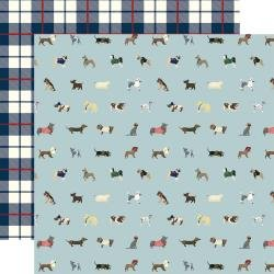 A Dog's Tail Double-Sided Cardstock 12X12 Ruff Life