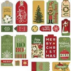 Christmas Memories Ephemera Cardstock Die-Cuts-Tags