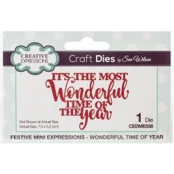 Creative Expressions Festive Craft Dies By Sue Wilson-Mini Expressions-Wonderful...