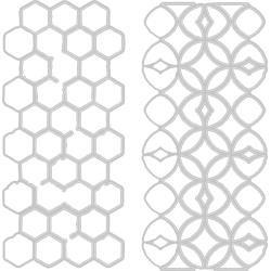 Sizzix Thinlits Dies By Tim Holtz-Pattern Repeat