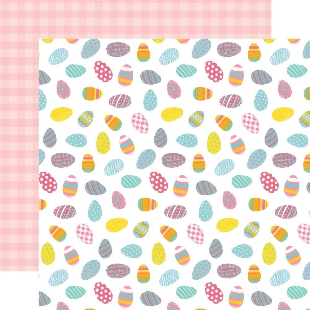 I Love Easter Double-Sided Cardstock 12X12-Eggscellent