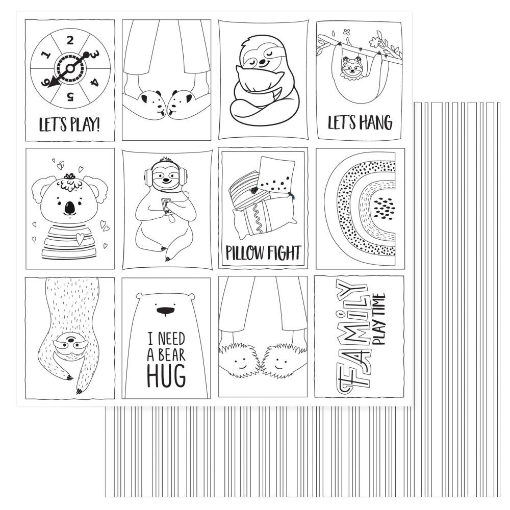 We Can Just Stay Home Double-Sided Cardstock 12X12-Color Me