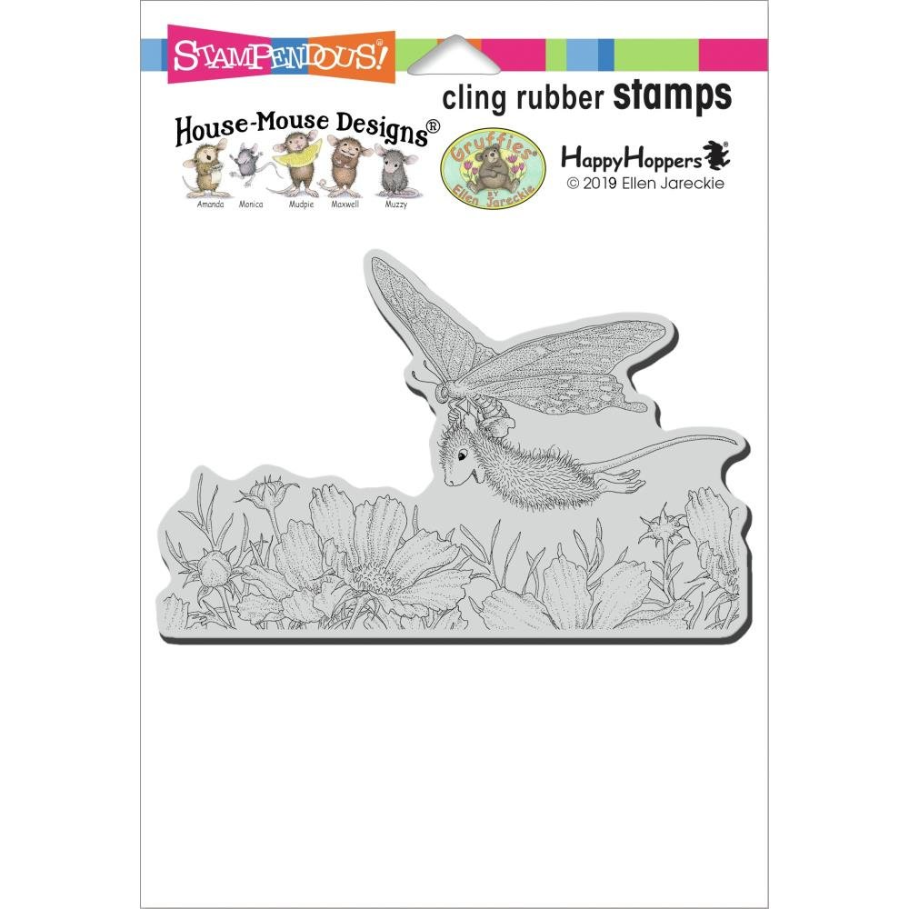Stampendous House Mouse Cling Stamp-Butterfly Soaring