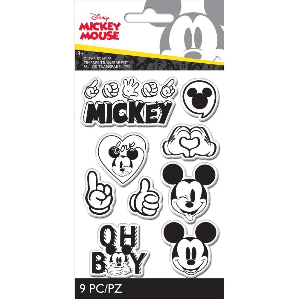 EK Disney Clear Stamps-Mickey