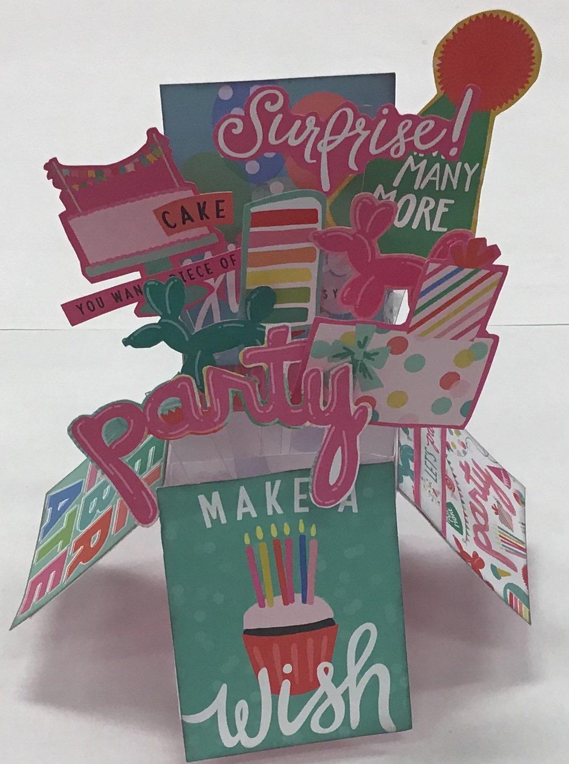 Birthday Girl Card box