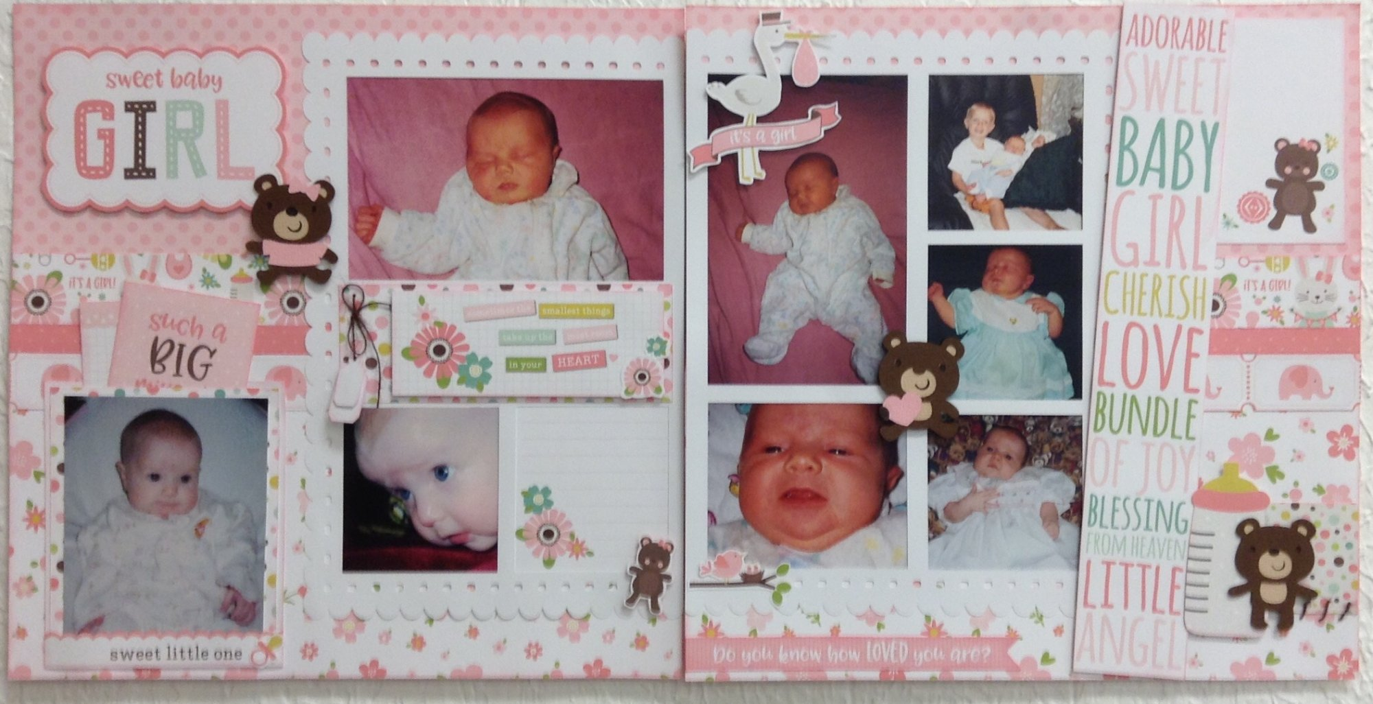Baby Girl Layout