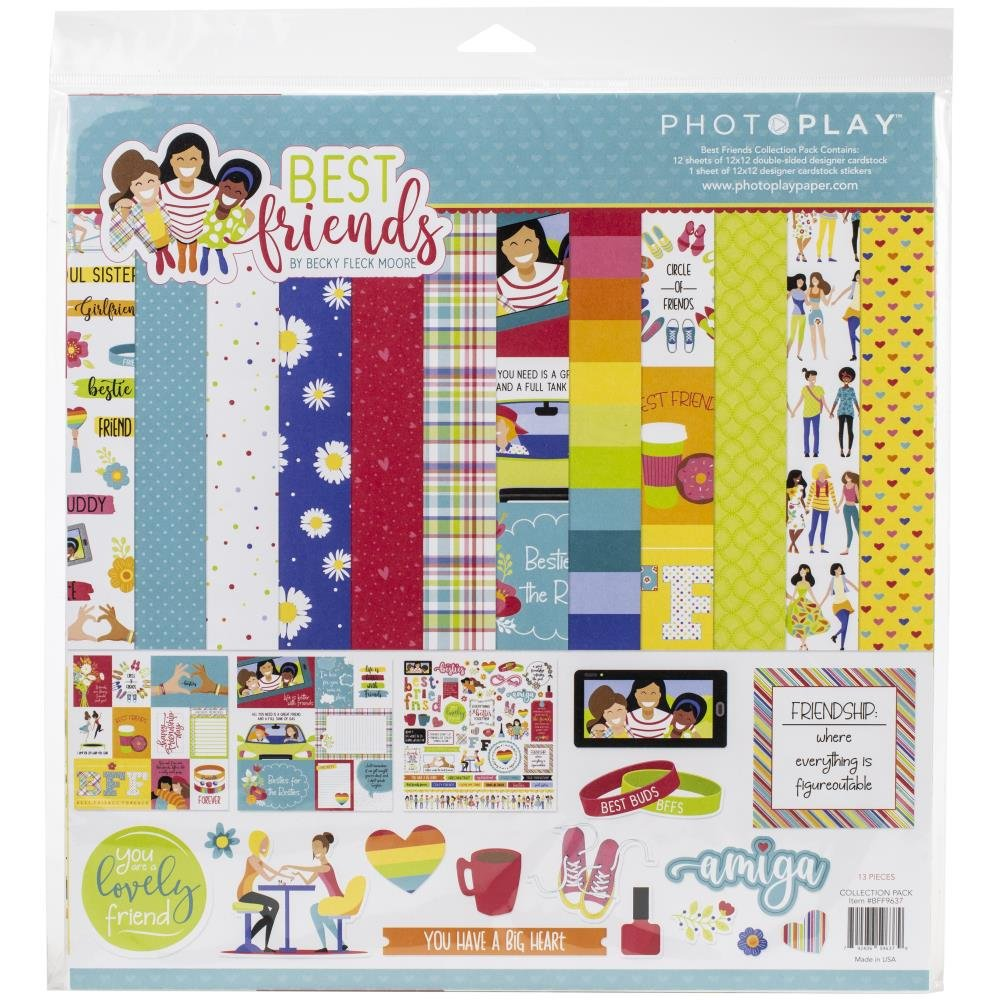 PhotoPlay Collection Pack 12X12-Best Friends